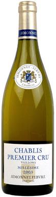 Domaine Simonnet Febvre, Chablis, Preuses, Burgundy, 2008