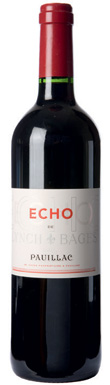 Château Lynch-Bages, Echo de Lynch-Bages, Pauillac, 2009