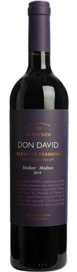 El Esteco, Don David Blend of Terroirs Malbec, Calchaquí