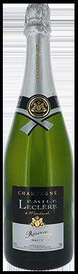 Émile Leclère, Reserve Brut, Champagne, France