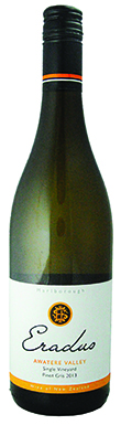 Eradus, Awatere Valley, Single-Vineyard Pinot Gris, 2013