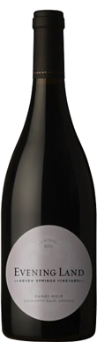 Evening Land, Eola-Amity Hills, Seven Springs Gamay Noir,
