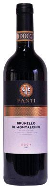 Fanti, Brunello di Montalcino, Tuscany, Italy, 2007