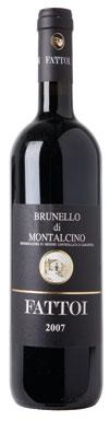 Fattoi, Brunello di Montalcino, Tuscany, Italy, 2007