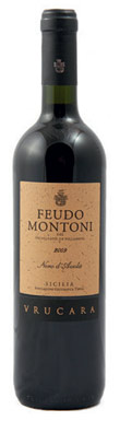 Feudo Montoni, Vrucara Nero d'Avola, Sicily, Italy, 2009