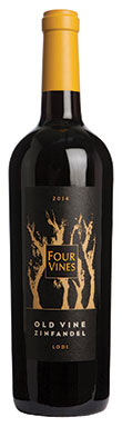 Four Vines, Lodi, Old Vines Zinfandel, California, USA, 2014