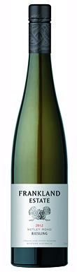 Frankland Estate, Netley Road Riesling, 2012