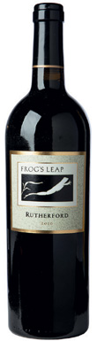 Frog's Leap, Cabernet Sauvignon, Napa Valley, Rutherford