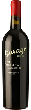 Garage Wine Co, Lot 42, Pirque, Maipó Valley, Chile, 2012