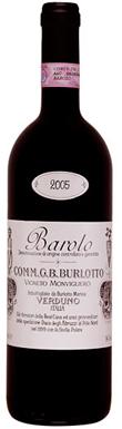 GB Burlotto, Monvigliero, Barolo, Verduno, Piedmont, 2010