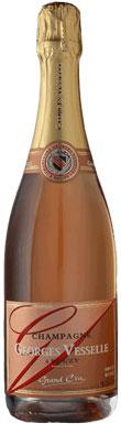 Georges Vesselle, Rosé Brut, Champagne, France