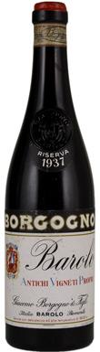 Borgogno, Riserva, Barolo, Piedmont, Italy, 1937