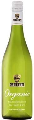 Giesen, Organic Sauvignon Blanc, Marlborough, 2020