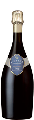 Gosset, Grand Blanc de Meunier, Épernay, Champagne, France