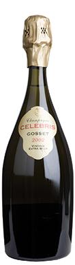 Gosset, Extra Brut, Celebris, Champagne, France, 2002