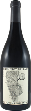 Gramercy Cellars, John Lewis Les Collines Vineyard Syrah