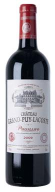 Château Grand-Puy-Lacoste, Pauillac, 5ème Cru Classé, 2012