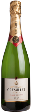 Gremillet, Blanc de Noirs Brut, Champagne, France