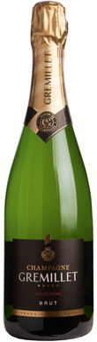 Gremillet, Séléction Brut, Champagne, France