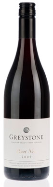 Greystone, Pinot Noir, Waipara Valley, Canterbury, 2009