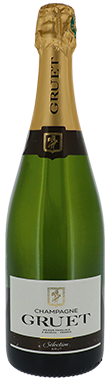 Gruet, Sélection Brut, Champagne, France