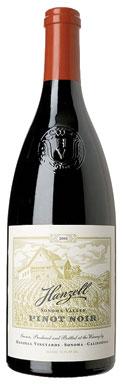 Hanzell Vineyards, Pinot Noir, Sonoma County, Sonoma Valley