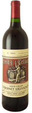 Heitz Cellar, Napa Valley, Trailside Vineyard, 2010