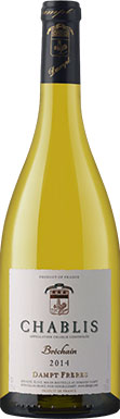 Hervé Dampt, Chablis, Bréchain, Burgundy, France, 2015