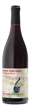 Hirsch Vineyards, Bohan Dillon Pinot Noir, Sonoma County