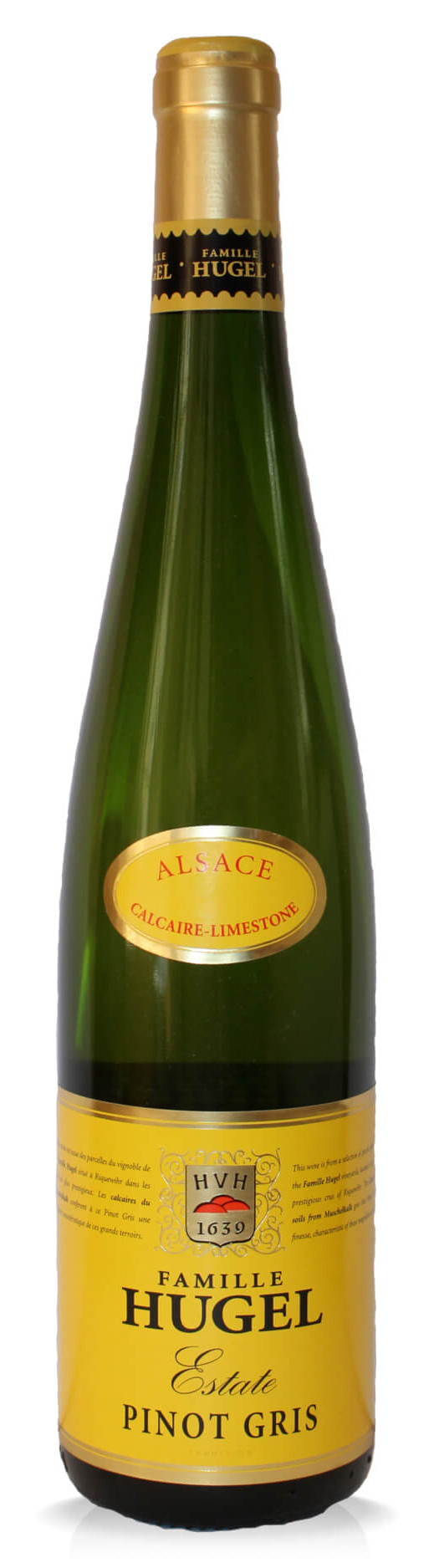 Hugel, Estate Pinot Gris, Alsace, France, 2015