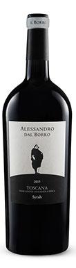 Il Borro, Alessandro dal Borro Syrah, Rosso di Toscana, 2012