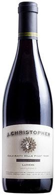 J. Christopher, Lumières Pinot Noir, Willamette Valley