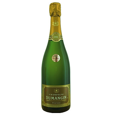 J Dumangin & Fils, Premier Cru, Champagne, France, 2002