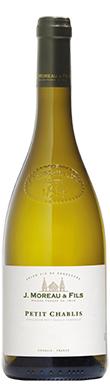 J Moreau & Fils, Chablis, Petit Chablis, Burgundy, 2019