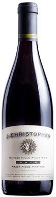 J. Christopher, Abbey Ridge Pinot Noir, Willamette Valley