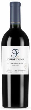 Journey's End, V5 Cabernet Franc, Stellenbosch, 2018