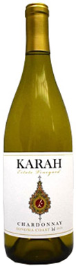 Karah Estate Vineyards, Estate Vineyard Chardonnay, Sonoma