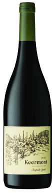 Keermont, Steepside Syrah, Stellenbosch, South Africa, 2012