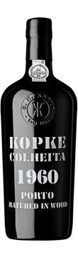 Kopke, Colheita Tawny, Port, Douro Valley, Portugal, 1960