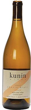 Kunin Wines, Jurassic Park Chenin Blanc, Santa Barbara