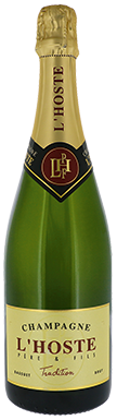 L'Hoste, Tradition Brut, Champagne, France
