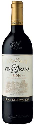 La Rioja Alta, Viña Arana Gran Reserva, Rioja, 2012