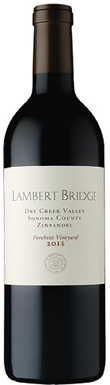Lambert Bridge, Forchini Vineyard, Sonoma County, Dry Creek