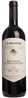 Le Macioche, Brunello di Montalcino, Tuscany, Italy, 2012