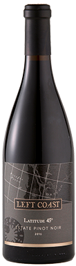 Left Coast Estate, Latitude 45° Estate Pinot Noir