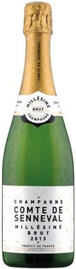 Lidl, Comte de Senneval Millésimé Brut, Champagne, 2013