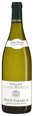 Domaine Louis Moreau, Chablis, Petit Chablis, Burgundy, 2018
