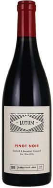 Lutum, Sta Rita Hills, Sanford & Benedict Vineyard Pinot