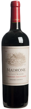 Madrone Estate Winery, Cabernet Sauvignon, Sonoma County