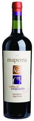 Mapema, Malbec Tempranillo, Mendoza, Argentina, 2013
